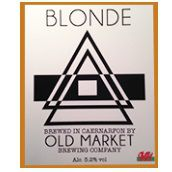 Old Market Brewery Blonde